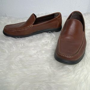 Cole Haan Shoes - NWOT Cole Haan Brown Leather Loafers